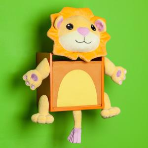 Offer for Danya B. Plush Lion Kids Wall Storage Bin (Danya B Plush Lion Kids Wall Storage Bin)