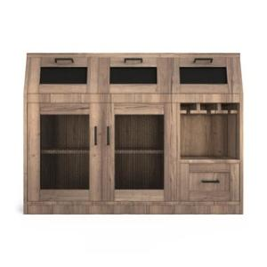 Offer for The Gray Barn Red River Industrial Multi-Storage Buffet (Chestnut Finish - Brown)